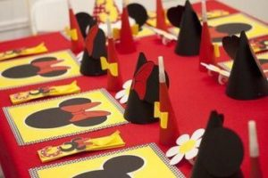 Ideas para crear cosas de mickey para cumpleaños