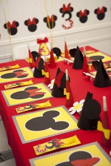cosas de mickey para cumpleaños de decoracion
