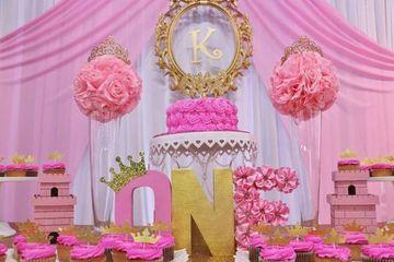decoracion de cumpleaños de un año niña
