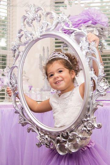 ideas para fiesta de princesa sofia para selfies