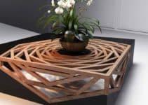 Singulares modelos de mesas de centro de madera