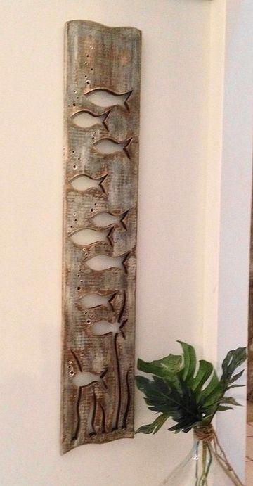 troncos de arboles para decorar la sala