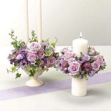 arreglos florales para comunion de niña