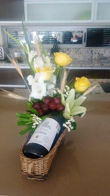 arreglos florales para comunion en casa