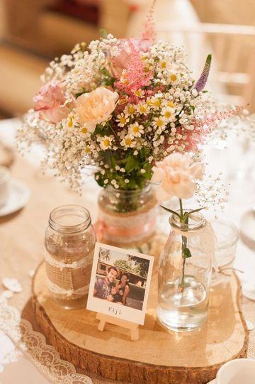 arreglos para boda economicos y sencillos