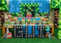 Ideas para decorar un cumpleaños tematico de minecraft