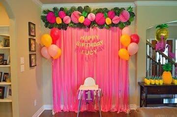 ideas para festejar cumpleaños en casa sencillas