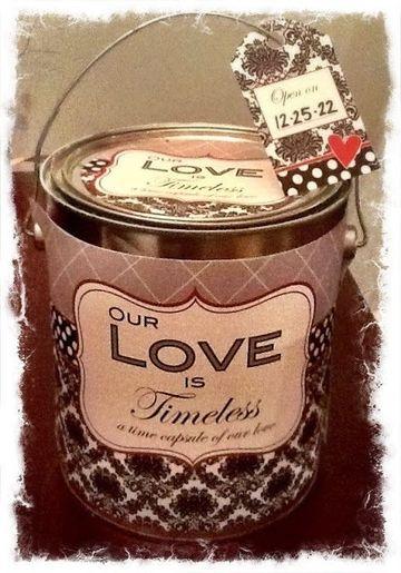 latas decoradas para souvenir de boda