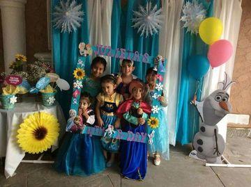 marcos de frozen para fiestas grande