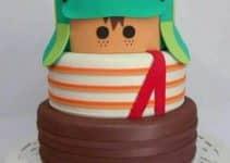 Diseños divertidos de pasteles del chavo del ocho