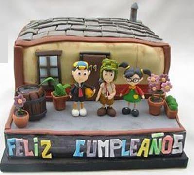 pasteles del chavo del ocho de cumpleaños