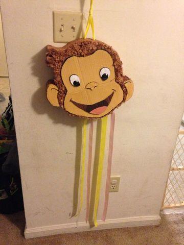 piñata de jorge el curioso casera