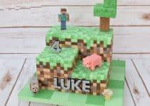 Originales diseños de tortas de cumpleaños de minecraft
