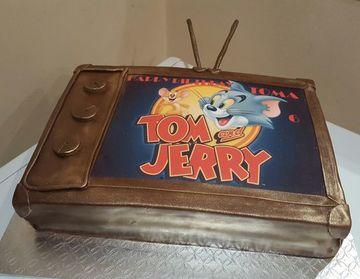 tortas de tom y jerry la pelicula