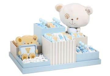 arreglos de ositos para baby shower lindos