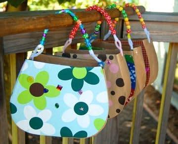bolsitas de cumpleaños infantiles para hacer de niña