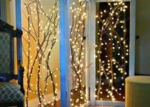 Una grandiosa y original decoracion con luces navideñas