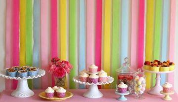 decoracion de colores para cumpleaños sencilla