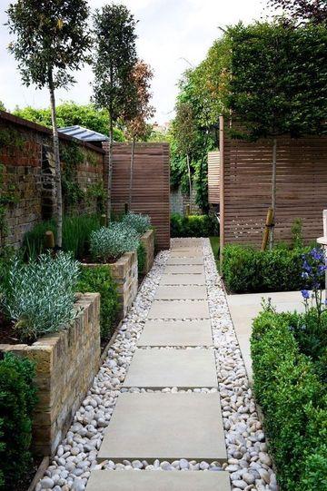 decoracion de jardines grandes modernos