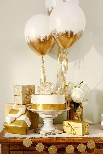 decoracion simple para cumpleaños de mujer