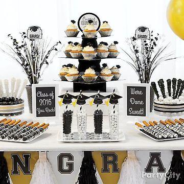 mesa de dulces de graduacion facil de realizar