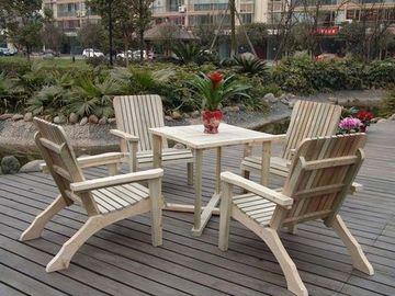 mesas de madera para terraza al aire libre