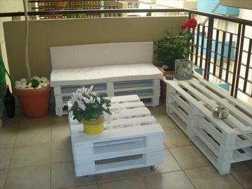 mesas de madera para terraza pequeña