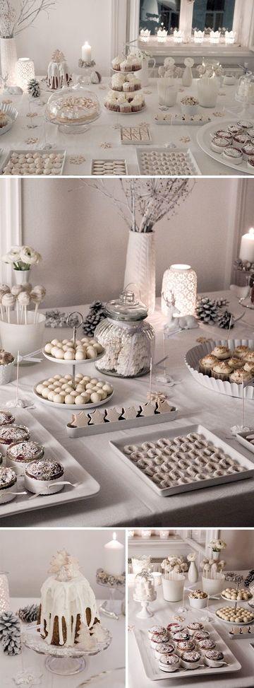 que poner en una mesa de dulces de bautizo
