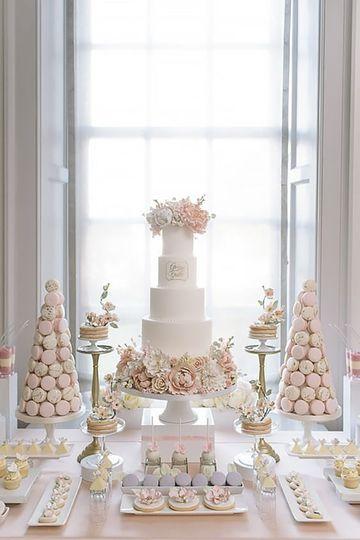 que poner en una mesa de dulces de bodas