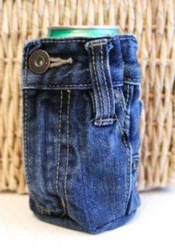 regalos para papa con material reciclado con jeans