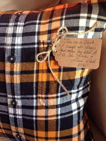 regalos para papa con material reciclado de ropa vieja