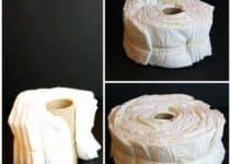 Realizacion de una torta de pañales paso a paso