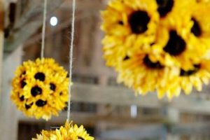 Hermosos adornos con flores artificiales a tu gusto