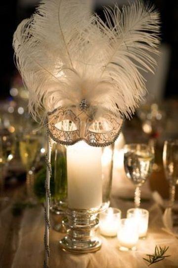 como decorar un candelabro para fiesta