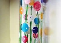 Ideas para saber como decorar un florero de cristal