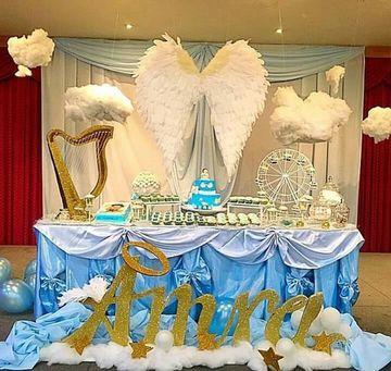 cosas para hacer un baby shower de angel