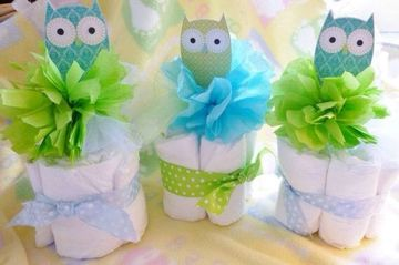 decoracion de buhos para baby shower faciles de hacer