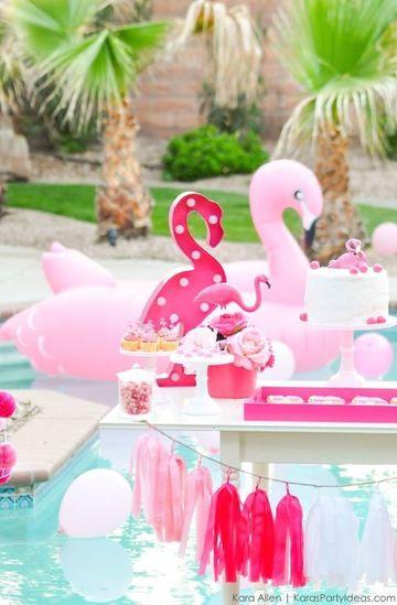 decoracion para fiesta en piscina juveniles