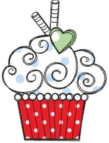 imagenes de cupcakes para dibujar facil