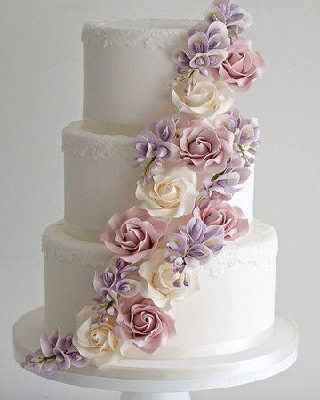 imagenes de tortas de matrimonio clasicas