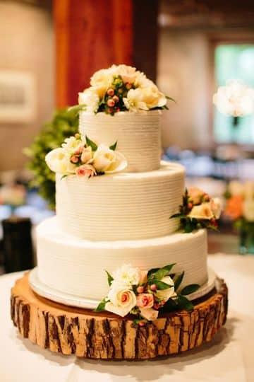 imagenes de tortas de matrimonio rusticos y elegantes