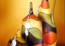 Ideas decorativas con jarrones decorados para las salas