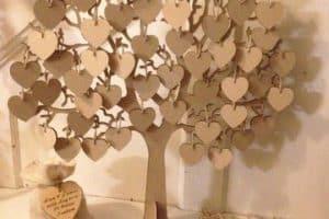 Opciones para tener tu arbol de los buenos deseos en tu boda