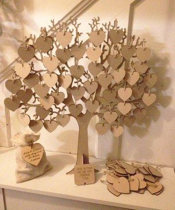 arbol de los buenos deseos de madera