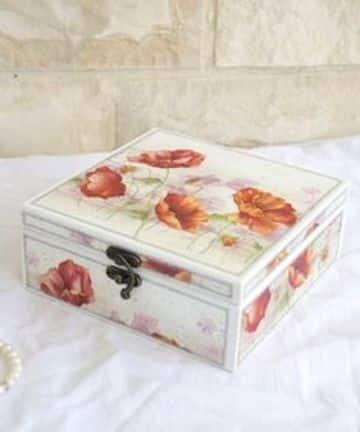 cajas de madera decoradas para regalo hermosas
