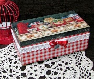 cajas de madera decoradas para regalo utiles