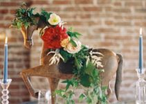 Centros de mesa de caballos para distintas celebraciones