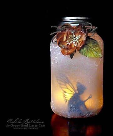 decorar botes de cristal para velas creativos