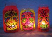 Preciosas ideas para decorar botes de cristal para velas