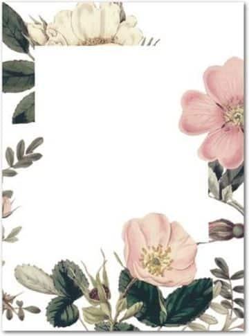 fondos de tarjetas de boda de flores